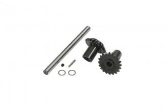 076204-Tail Output Shaft with Bevel Gears Set(6mm)