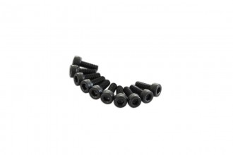 0R1308-Socket Head Cap Screw - Black (M3x8)x10pcs