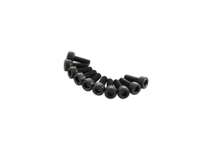 0R1308-Socket Head Cap Screw - Black (M3x8)x10pcs