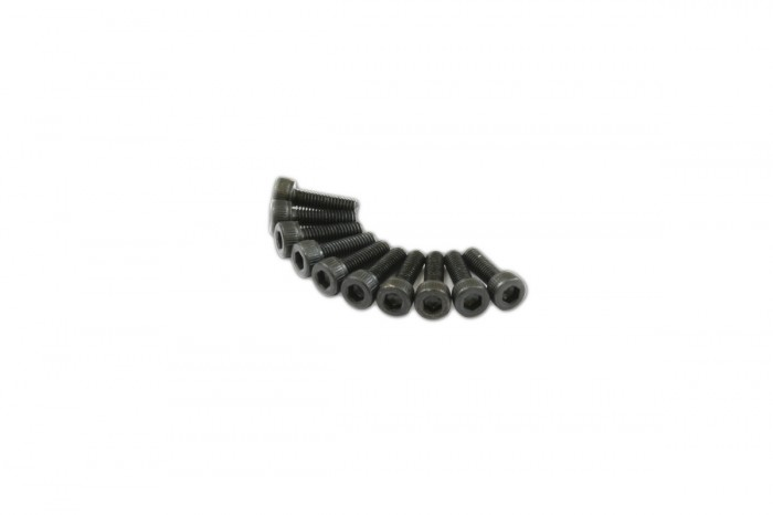 0R1310-Socket Head Cap Screw - Black (M3x10)x10pcs