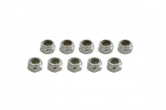 0R8508-Nylon Lock Nut (N5x8L)x10pcs