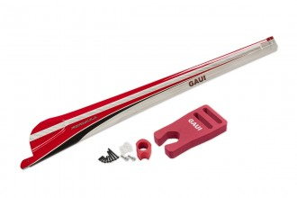 077111-FORMULA Carbon Fiber Tail Boom (Type B, in Red)(for X7)
