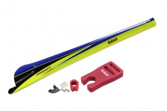 077112-FORMULA Carbon Fiber Tail Boom (Type B1, in Blue)(for X7)