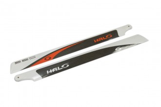 HALO  CF main blades (360L-CFA)