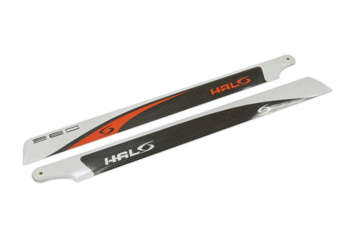 HALO  CF main blades (360L-CFA)