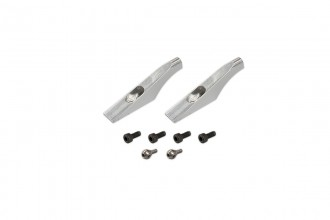 051253-Main Blade Grip Control Arm (Silver anodized)(for R5)