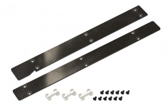 053034-CF Battery Tray (2mm)(for R5)