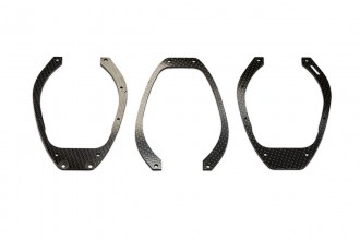 053035-Carbon Fiber Landing Gear Mount (3pcs)(for R5)