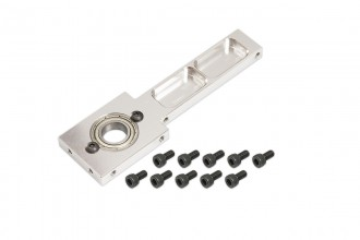 053251-CNC Main Shaft Upper Bearing Mount (Silver anodized)(for R5)