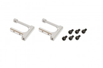 053260-CNC Tail Servo Mount(Silver anodized)(for R5)