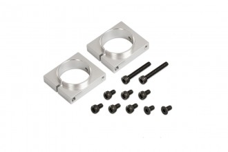 053261-CNC Boom Clamps(Silver anodized)(for R5)