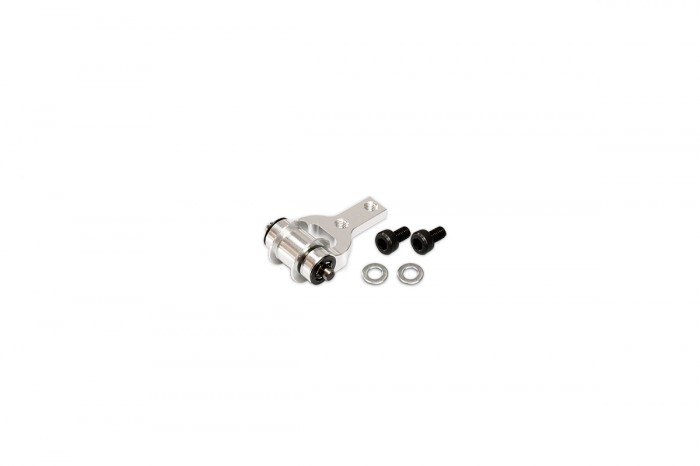 053262-CNC Guide Wheel Mount (Silver Anodized) (for R5)