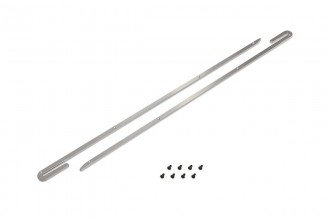 053264-CNC Battery Guide (Silver Anodized) (for R5)