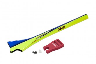 057112-FORMULA Carbon Fiber Tail Boom (Blue)(for X5)