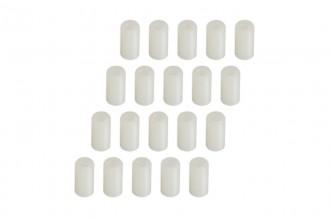 0W2401-Plastic Post (2.4x4.8x9.4)x20pcs