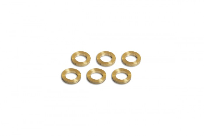 0W5802-Copper washer((5x8x1.25)x6pcs