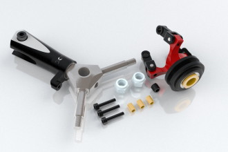 076602-CNC 3 Blades Tail Rotor Head Upgrade Kit(for X7,NX7)