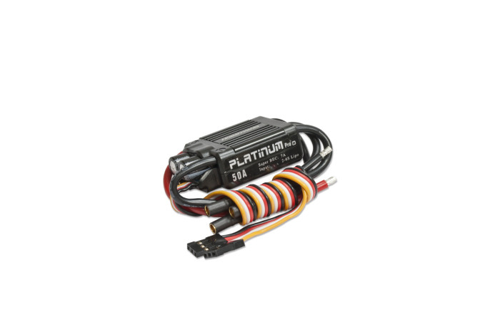 0F1050-Hobbywing Platinum 50A V3 Brushless ESC w7A BEC