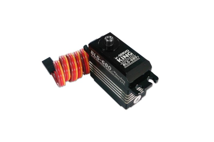 0S2680-ServoKing BLS-6803 Digital Standard Size Brushless Servo (Speed Type)