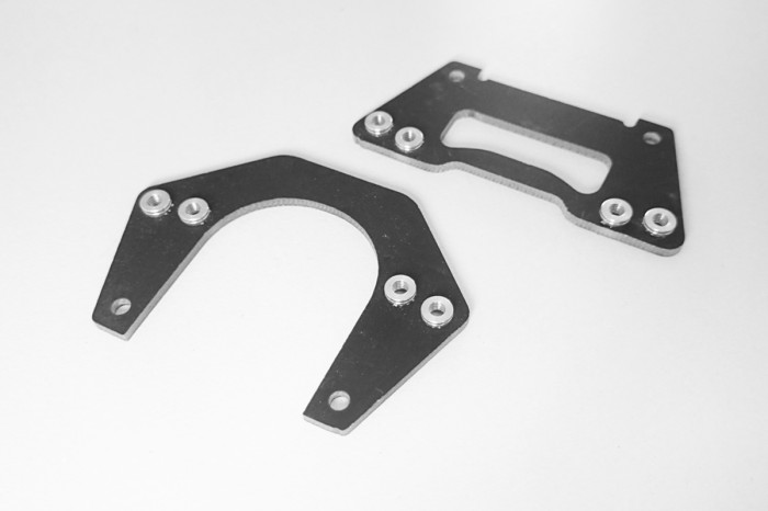 E28119-Eclipse E28R Front & Rear Lower reinforce Plates