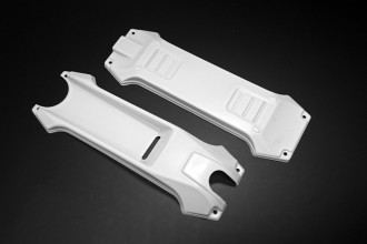 E28120-Eclipse 280 Upper & Lower Covers (White)
