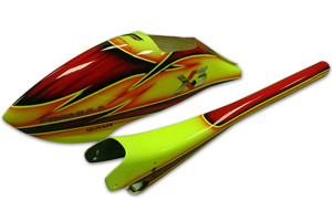 ♦ New stylishly painted fiberglass canopy design.