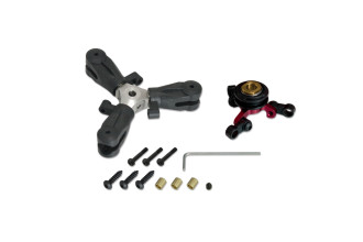 036607-CNC 3 Blades Tail Rotor Head Ass'y(for X3L)