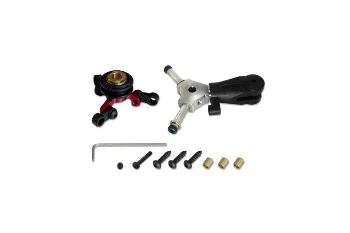 036608-CNC 3 Blades Tail Rotor Head Upgrade Kit(for X3L)