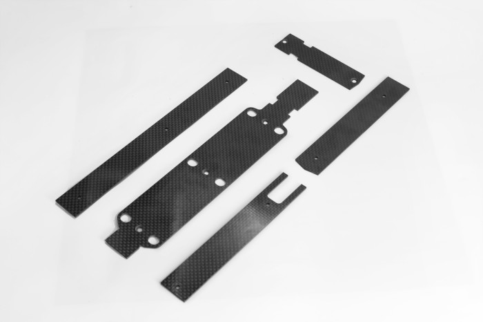 054005-X5 V2 Stiffening Plates and Mounts for  electronics
