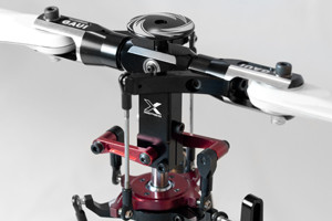 ♦New X5v2 rotor head. Increasing safety and stability.