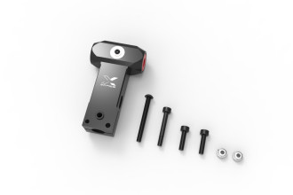 052210-X5 V2 CNC Main Rotor Yoke Set (Black anodized)
