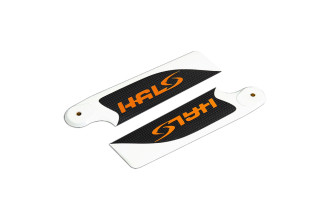 0P1072-HALO CF Tail Rotor Blade Set(72mm)