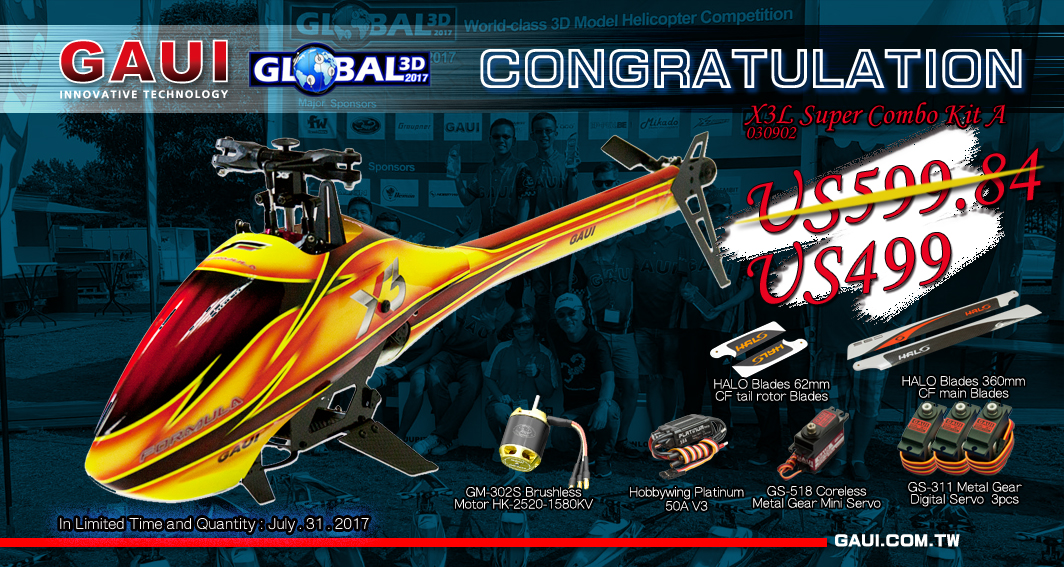 global 3D X3L