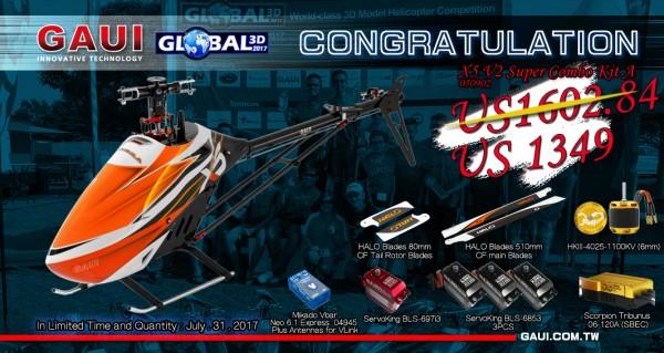 global 3D X5V2