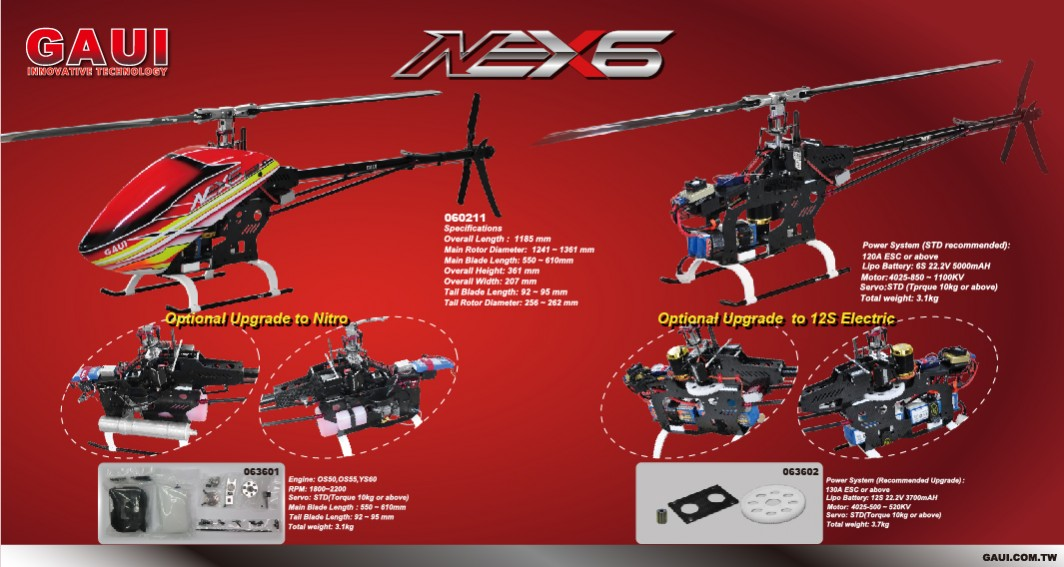 NEX6 DM