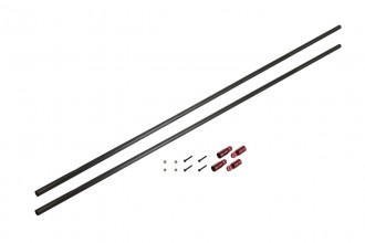 0A3029-碳纖支撐桿 陽極紅色(for NEX6)-CF Tail Boom Support Rod Set Red anodized(for NEX6)